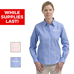 LADIES' EXECUTIVE LONG SLEEVE DRESS SHIRT